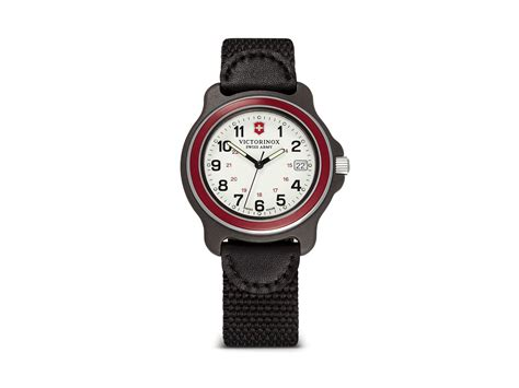 Swiss Army Sa8040m Black White victorinox original large 39mm in black for lyst