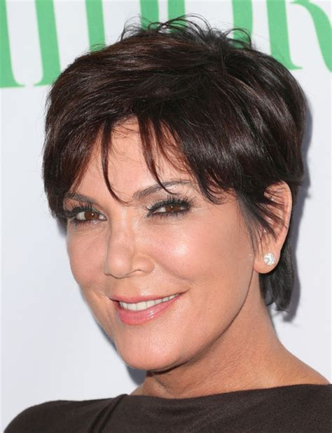 kris jenner hairstyles front and back kris jenner haircut from the back short hairstyle 2013