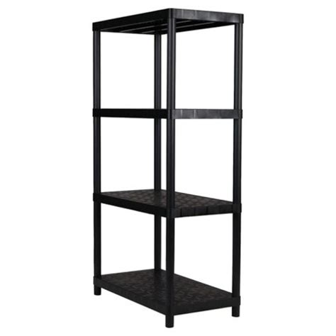 buy keter 15 4 tier plastic shelving unit from our wall