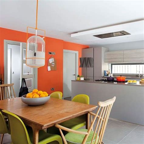 kitchen feature wall paint ideas 25 best ideas about orange office on pinterest modern