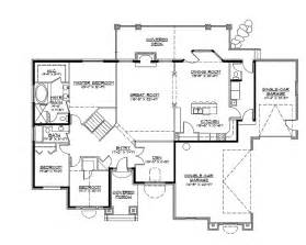 gallery for gt craftsman style rambler home plans