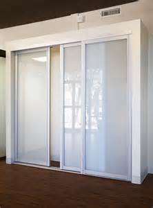 Closet Slide Doors Sliding Glass Closet Doors Glass