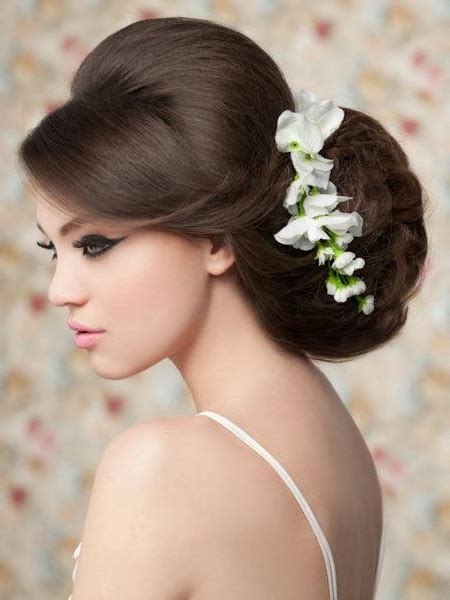 pictures wedding hairstyles for hair oversized bridal updo with side bangs