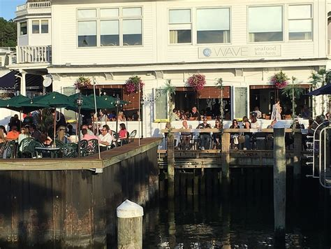 Marina Seafood Kitchen by Live On The Admirals Deck At Wave Seafood Kitchen At