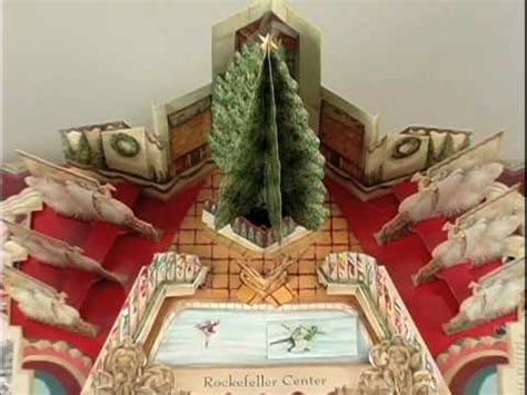 libro new york christmas recipes christmas in new york a pop up book by chuck fischer youtube