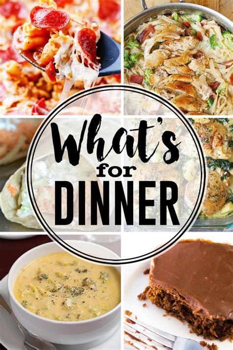what s for dinner this week meal planning eighteen25