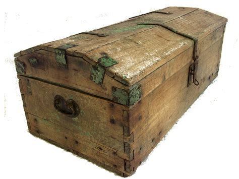 wooden trunk late 1700 s antique wooden coach trunk omero home
