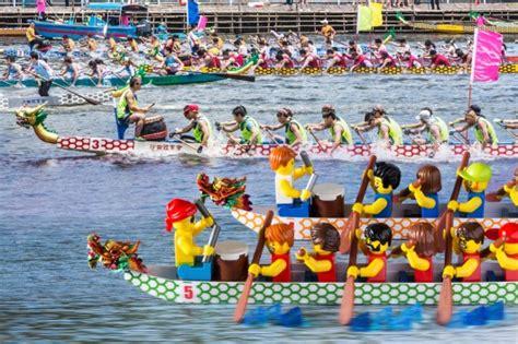 dragon boat lego lego at the affordable art fair hong kong