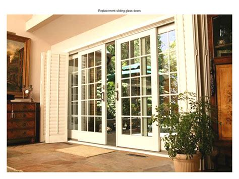27 Replacement Sliding Glass Doors Ideas Home And House Door In Sliding Glass Door