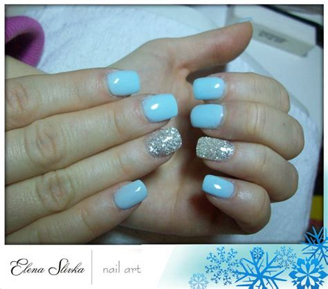 Blue Nails Trend 2008 by Baby Blue Silver Nails 2014 Nail Trend Finger Paint