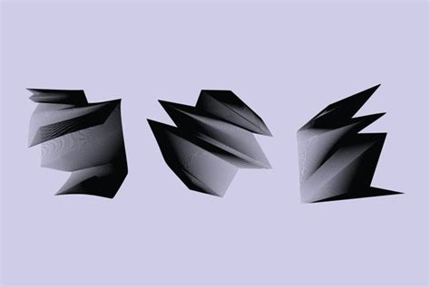 Origami Waves - origami waves graphics youworkforthem
