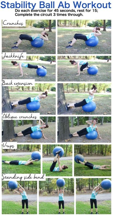 stability ab workout the almond eater
