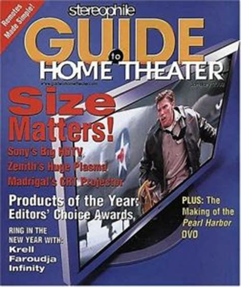 home theater magazine click here to view complete magazine