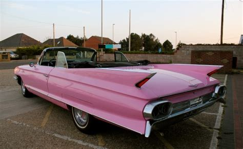 pink cadillac for sale uk cadillac convertible 1961 pink thats classic