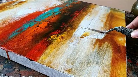 acrylic painting using abstract painting easy how to paint acrylic abstract