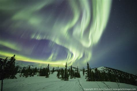 chena springs northern lights chena springs galactic images