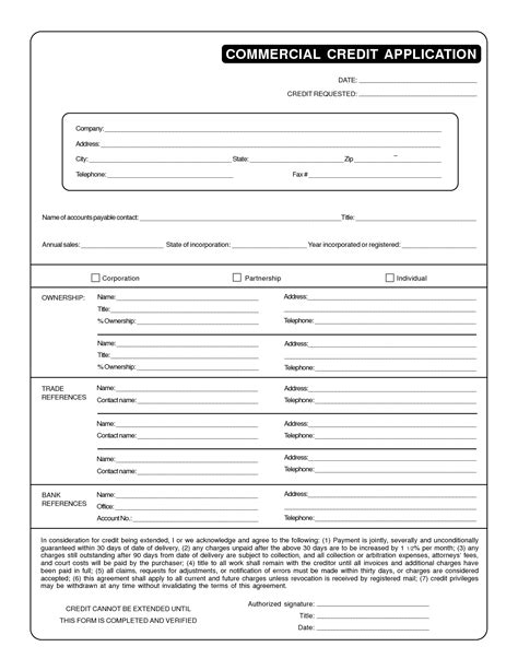 Business Credit Reference Check Form Template Business Credit Reference Template Free Printable Documents