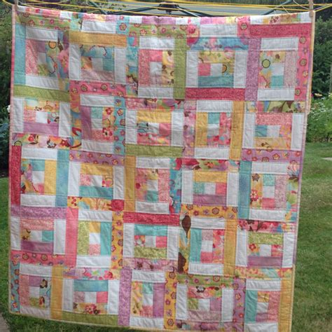 Jelly Roll Patchwork Patterns - pdf quilt pattern for jelly rolls baby crib