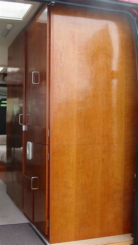 Self Build Wardrobes by A Self Build Motorhome Wardrobe