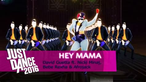 tutorial dance hey mama hey mama david guetta just dance 2016 full gameplay