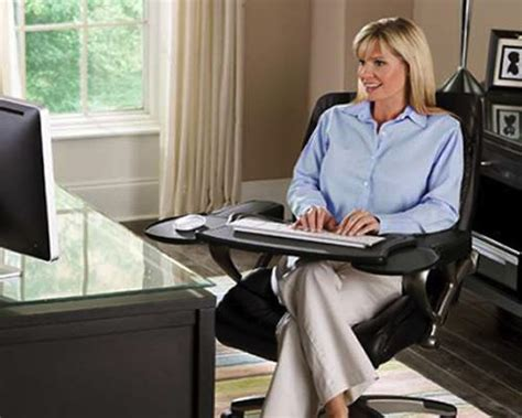Gaming Chair With Keyboard And Mouse Tray by Mobo Computer Station Ergonomic Chair Mount Keyboard