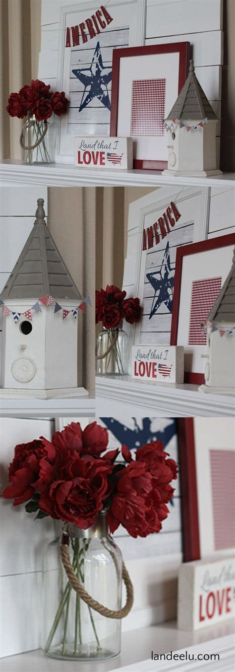 red white and blue home decor best diy crafts ideas red white and blue home and