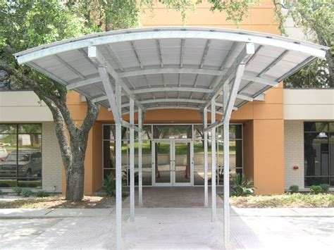 Metal Canopy Commercial Entrance Canopies Metal Awnings Canopies