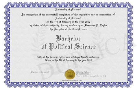Political Science Bachelors Mba by Bachelor Of Political Science