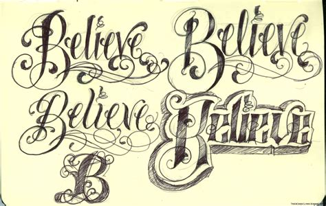 tattoo fonts script tatoo lettering free pictures
