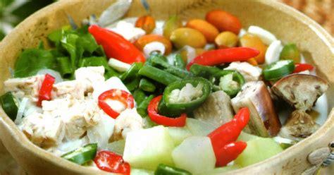 resep lodeh irisan sayuran