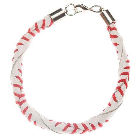 baseball for bracelets leather baseball bracelet stuff i want my to make me
