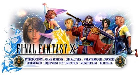faq walkthrough guide for final fantasy x on playstation 2 ps2 final fantasy x ps2 walkthrough and guide page 14