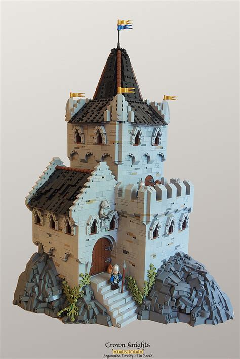 lego crown knights castle crown knights lego historic themes eurobricks forums