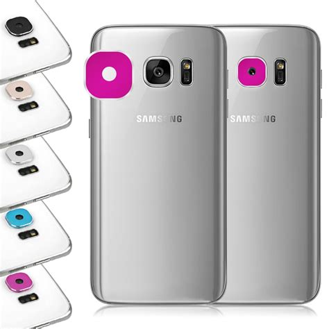 Samsung Lens Cover Galaxy S7 Edge 2 Lens Telephoto 2x And Wide Angle lens protective cover ring installed for samsung galaxy s7 edge lens ebay