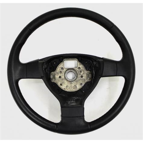 volante golf 5 volant cuir noir fr sans airbag pour vw golf 5 ref