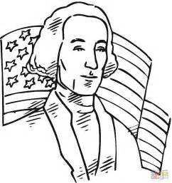 george washington colors george washington president of the usa coloring page