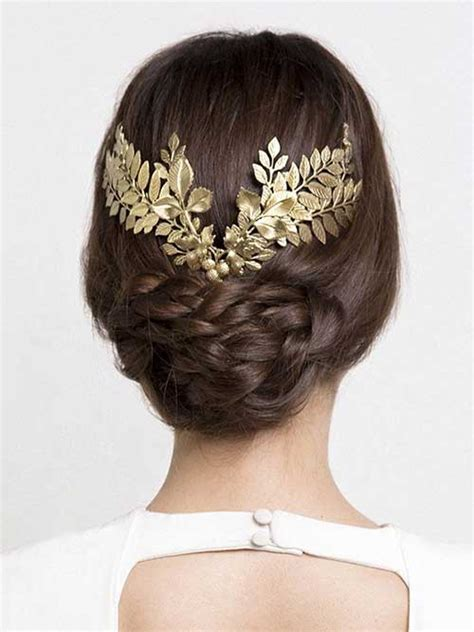 Wedding Hair Accessories Gold by 23 New Beautiful Wedding Hair Hairstyles Haircuts 2016