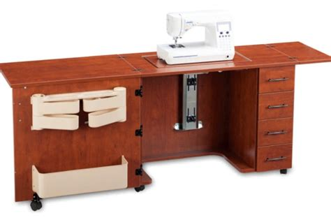 sewing machine cabinets with air lift sylvia design 920 sewing machine cabinet 79 quot w x 20 quot d x 30