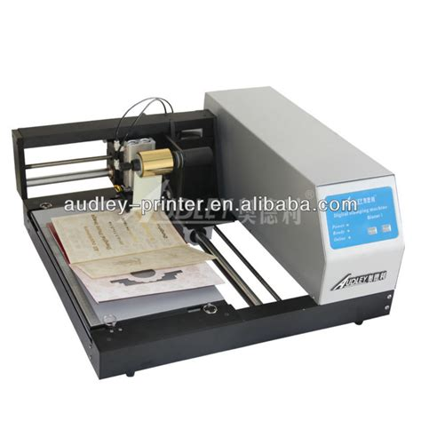 greeting card machine auto foil sting machine with the printing