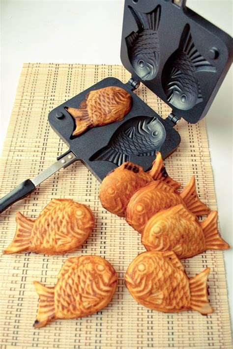 taiyaki japanese fish shaped cakes food for the eyes soul and be