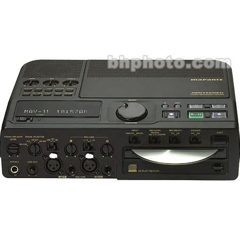Disk Recorder Marantz Professional Cdr 420 Portable Disk Cdr420 B H