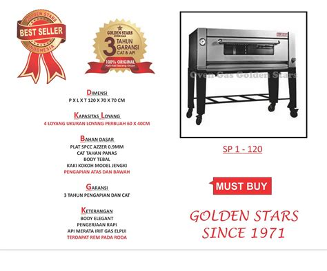 Oven Roti Golden best seller oven gas indonesia tips memilih oven gas