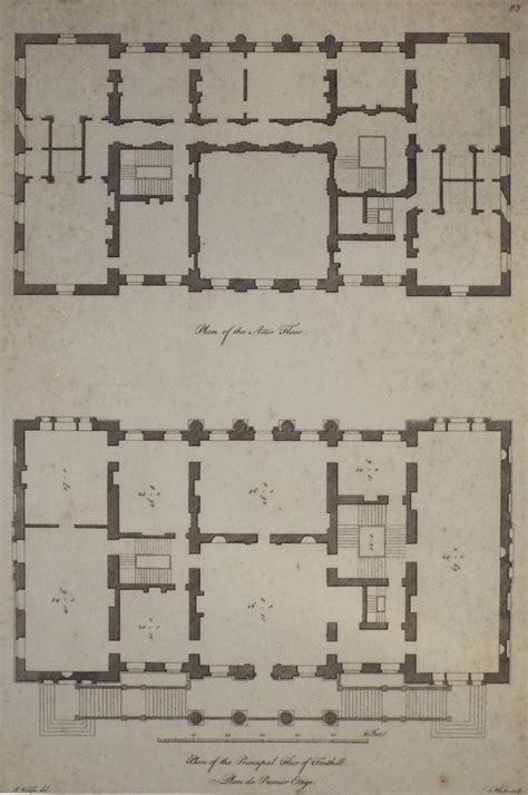 1 Maiden 5th Floor New York New York 10038 - plan of the attic floor plan of the principal floor of