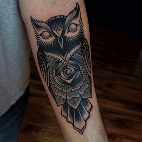 owl forearm tattoo 120 owl tattoos that will keep you awake