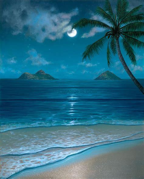 paint nite oahu tropical paintings archive deir