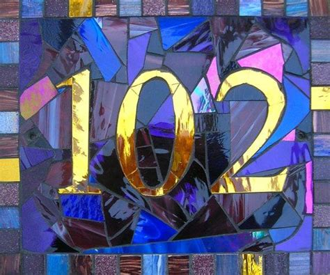 mosaic designs for house numbers creative ideas for displaying your home address diy house numbers just