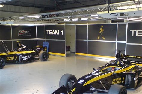 Pit Garage by Racecarsdirect Pit Garage Gantry And Lighting Pods