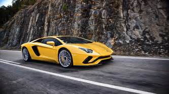 What Does A Lamborghini The New Lamborghini Aventador S Makes Its Debut At The