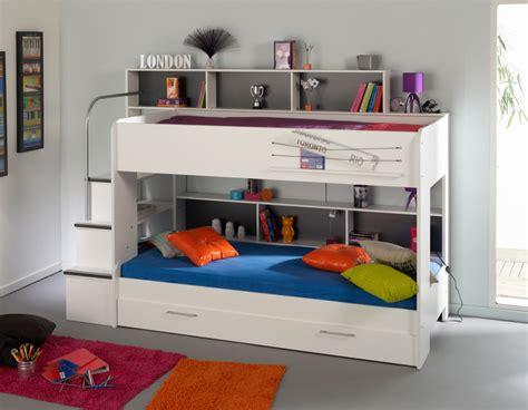 Small Childrens Bunk Beds Space Saving Bunk Bed Design Ideas For Bedroom Vizmini
