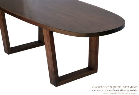 Contemporary Oval Dining Table Timeless Design Meets Enduring Quality In A Modern Walnut Dining Table